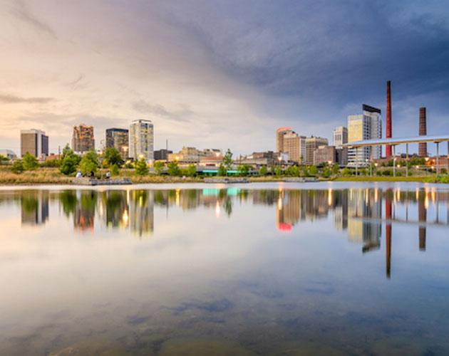 Downtown Birmingham skyline