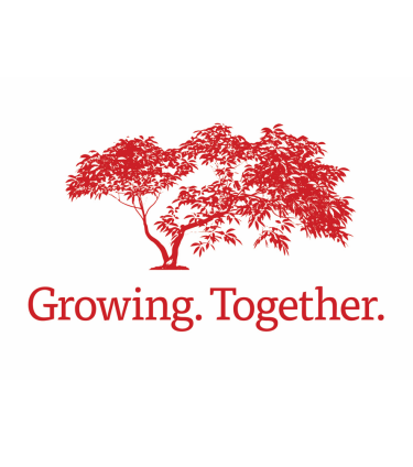 growing together maple tree logo