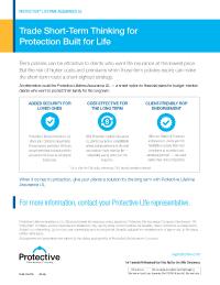 Thumbnail of Lifetime Assurance UL flyer