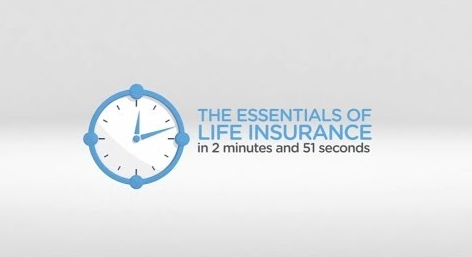 The essentials of life insurance explained in 2 minutes and 51 seconds video