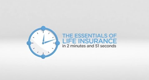 The Essentials of Life Insurance in 2 minutes and 51 seconds.